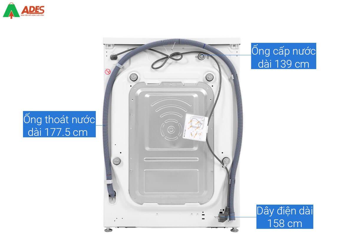 Hinh anh thuc te san pham may giat long ngang LG FV1450S3W 10.5kg